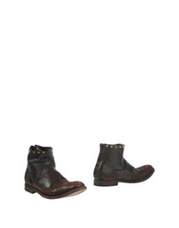 Htc Ankle Boots Dark Brown