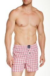 Psycho Bunny Woven Boxer Pink