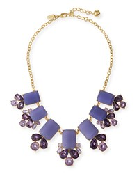 Glitzy Spritz Statement Necklace Lilac Kate Spade New York Purple