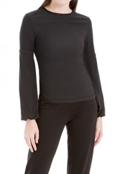 Leon Max Sand Washed Modal Long Sleeve Top