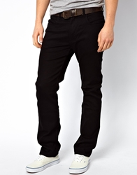 Lee Jeans Blake Straight Fit Stay Black Stretch Stayblack