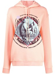 Mcq By Alexander Mcqueen Electronic Vibrations Hoodie Pink