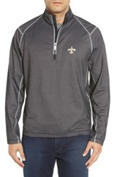 Tommy Bahama 'Nfl Double Eagle' Quarter Zip Pullover Black