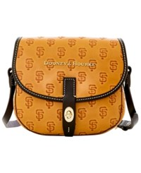 Dooney And Bourke San Francisco Giants Leather Field Bag Orange