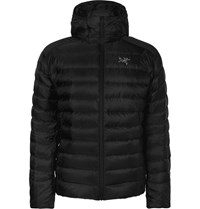 Arc'teryx Cerium Hooded Lt Quilted Shell Down Jacket Black