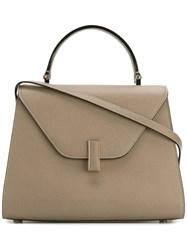 Valextra Trapeze Tote Nude And Neutrals