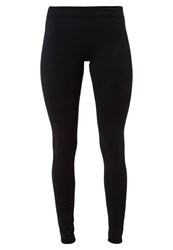 Under Armour Tights Noir Blanc Black