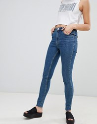 Cheap Monday High Skinny Jeans Blue Love