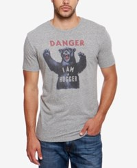 Lucky Brand Graphic T Shirt Grey