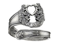 Alex And Ani Fortune's Favor Spoon Ring Precious Metal Sterling Silver Ring