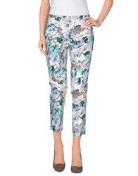 Philosophy Di Alberta Ferretti Trousers 3 4 Length Trousers Women Sky Blue