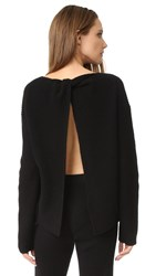 Theory Twylina B Cashmere Sweater Black