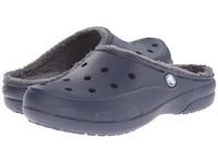 Crocs Freesail Lined Clog Navy Charcoal Women's Shoes Blue