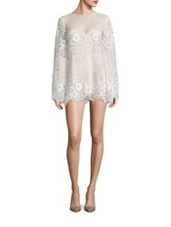 Alice Mccall Like I Would Lace Mini Dress White Black