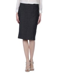 Patrizia Pepe Skirts Knee Length Skirts Women Steel Grey