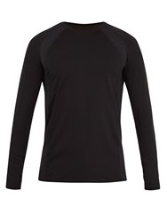 Casall M Mix Long Sleeved Performance T Shirt Black Multi