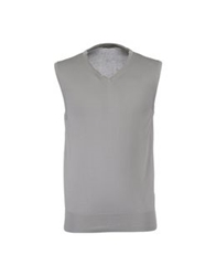 Bellwood Sweater Vests Light Grey