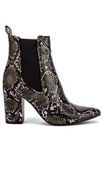 Steve Madden Subtle Ankle Bootie In Gray. Grey Snake