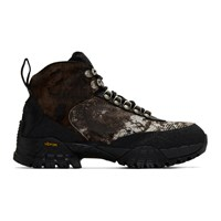 1017 Alyx 9Sm Brown And Black Hiking Boots