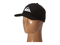Quiksilver Mountain Wave Black Hat White Caps
