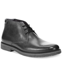 Alfani Lancer Leather Chukka Boots Only At Macy's Men's Shoes Black