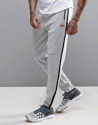Ellesse Sport Skinny Joggers With Taping Grey