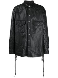 Faith Connexion Quilted Leather Shirt 60