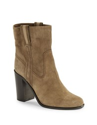 Kate Spade Baise Suede Boots Tobacco