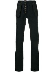 Unravel Project Inside Out Jeans Black