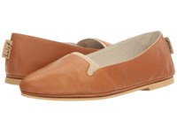 French Sole Urge Caramel Nappa Natural Leather Women's Shoes Brown