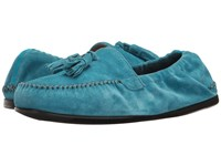 Salvatore Ferragamo Fabrizio Loafer Turquoise Men's Slip On Shoes Blue