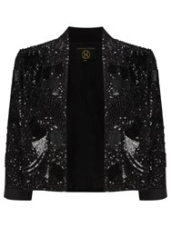 Phase Eight Collection 8 Sassy Sequinned Jacket Black