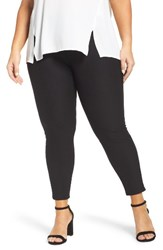Hue Plus Size Women's Essential Denim Leggings
