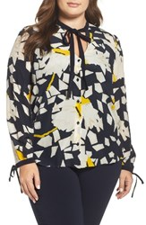 Persona By Marina Rinaldi Plus Size Women's Baccheo Silk Blouse