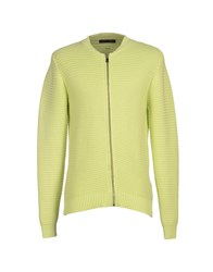 Guess By Marciano Knitwear Cardigans Men Acid Green