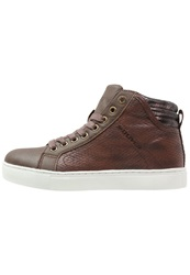 S.Oliver Hightop Trainers Tabacco Cognac