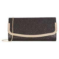 Oasis Colette Clutch Bag Black