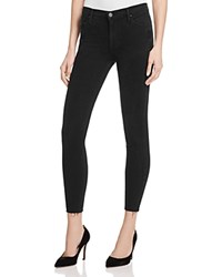 Black Orchid Noah Skinny Ankle Jeans In Pitch