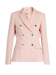 Altuzarra Indiana Double Breasted Blazer Light Pink