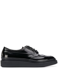 Prada Leather Platform Brogues 60