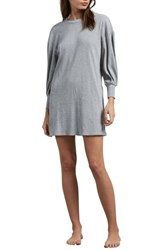 Volcom Lil T Shirt Dress Heather Grey