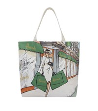 Harrods Brompton Road Tote Bag Unisex