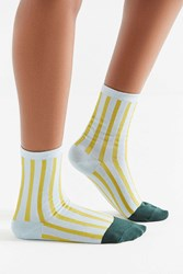 Hansel From Basel Dipped Tow Crew Sock Yellow Multi