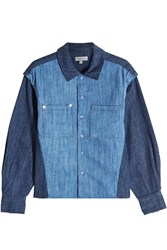 Public School Denim Shirt Blue