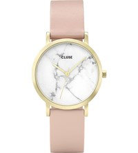 Cluse Cl40101 La Roche Petite Gold And Marble Watch