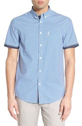 Men's Ben Sherman 'Tipped' Short Sleeve Woven Shirt
