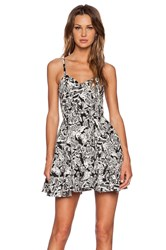 Sam Edelman Butterfly Party Dress Black And White