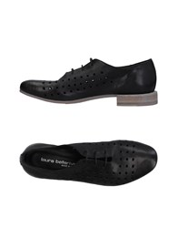 Laura Bellariva Lace Up Shoes Black