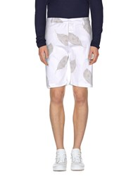 Officina 36 Trousers Bermuda Shorts Men Pastel Blue