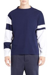 Marni Men's Colorblock Sleeve T Shirt
